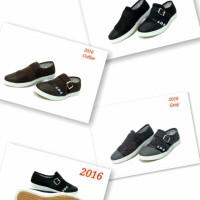 Sepatu Trend 2016 warna black grey coffee