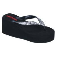Sandal Jepit Wedges Wanita Santai Simple Trendy Murah Terbaru NO 094