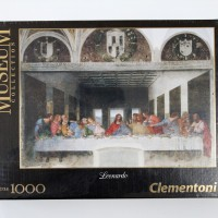 Jigsaw Puzzle Clementoni : The Last Supper - 1000 pieces