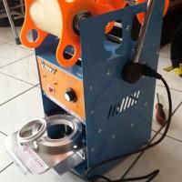 mesin Plastik sealer untuk cup gelas air mineral dan gelas juice
