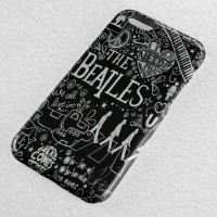 Jual The Beatles Lyric Collage iPhone Case & All Case HP Murah