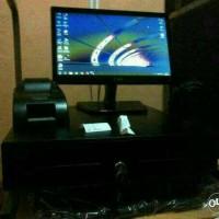 Paket Komputer Kasir Hemat lengkap software ori + printer