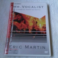 Eric Martin - Mr. Vocalist A Special Night In Tokyo Japan CD+DVD