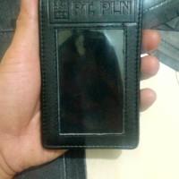 dompet id card PT PLN kulit,id card wallet