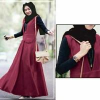 Set Baju Muslim Remaja Reisha Hijab