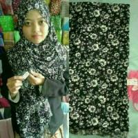 Jual Jilbab Kerudung Pashmina Bunga Batik Rawis Murah Murah