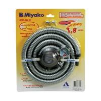 harga Miyako RMS-106M Paket Regulator Meter Selang Flexi - Aluminium Spiral Tokopedia.com