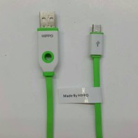 Kabel Data Teleport Hippo Micro Usb 90cm (Fast Charger)