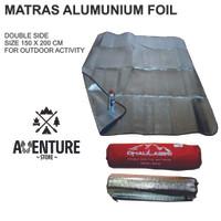Matras Alumunium Foil Double Side / Thermal Bivvy For Outdoor Activity