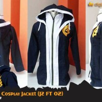harga Jellal Semi Cosplay Jacket (Jaket Anime Fairy Tail - JZ FT 02) Tokopedia.com
