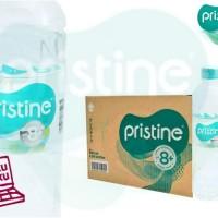 Pristine 8+ 600ml 1carton Isi 24botol Mineral Water Ionisasi