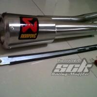 Fullset Knalpot Akrapovic Garda For Yamaha R15