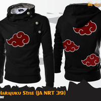 harga Akatsuki Harajuku Style Hoodie (Jaket Anime Naruto - JA NRT 39) Tokopedia.com