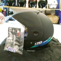 Helm LTD Sport Hitam Doff Original