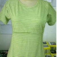 harga Manset pendek motif garis/baju menyusui/ Tokopedia.com
