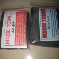 magic towel kain pembersih koin dan logam (iklan c901)
