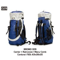 Jual Tas Gunung Carrier Hiking Outdoor Model Eiger Deuter Consina BROMO 009 Murah