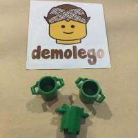 Lego Original Trash Can Drum Tong Aksesoris Accessories