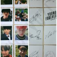 BTS Young Forever Polaroid (Replika)