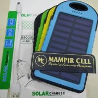 harga Power Bank Solar 88000Mah 2 USB Output | Surya Panel Tokopedia.com