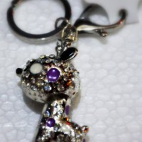 Gantungan Kunci Silver Premium