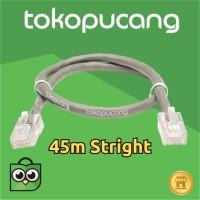45m Kabel LAN utp cat5 / cat5e siap pakai Stright | Jaringan | POE
