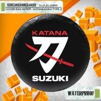 "Cover ban custom SUZUKI JIMNY "" Katana suzuki logo"" / sarung ban jimny"