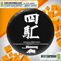 """Cover ban custom SUZUKI JIMNY """" Japan - Tenacious """" / sarung ban jimny"""