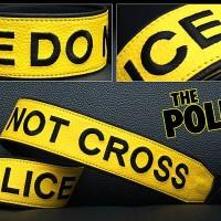 Strap Kamera / Tali Kamera / Neckstrap Police Line Premium Quality