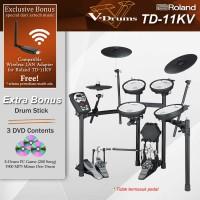 Drum Elektrik Roland TD11KV + Rack MDS-4V / TD 11KV / TD11 KV VDrums