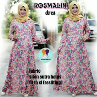 GROSIR BAJU MURAH rosmalin DRESS sifon