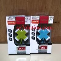 Cliptec X-CROSS USB 2.0 4 Ports Hub (RZH-201)