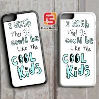 Echosmith Cool Kids Lyrics A0574 iPhone 4, 4S, 5, 5S, 6, 6S, 6 Plus, 6