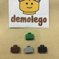 Lego Original Tas Koper Suitcase Aksesoris Accessories