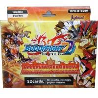 BUDDYFIGHT Triple D Start Deck Vol.1 BFE-D-SD01 Scorching Sun Dragon