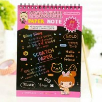 Scratch Note Magic Ukuran Sedang