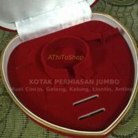 Kotak Perhiasan Love JUMBO untuk Cincin Kalung Gelang Anting-Anting