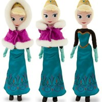 Disney Store Elsa Cape Plush Doll - Frozen - 20'' / Boneka Elsa