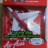 Die Cast (Diecast) Pesawat Terbang AirAsia (Air Asia)