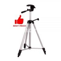 Weifeng Portable Lightweight Tripod Stand 3-Section Aluminum Legs - WT