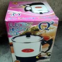 Harga mug teko listrik stainless q2 12 cm pemanas air | Hargalu.com