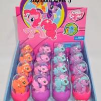 Figure Figurin Little Pony Surprise Egg Set / Kuda Poni / Telur Telor