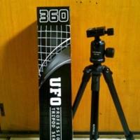 Tripod Excell UFO 360 Warna Hitam + Tas