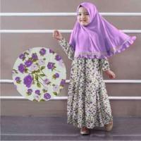 Gamis anak perempuan busana muslim kids terbaru maxi dress terlaris