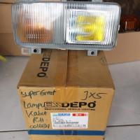 LAMPU KABUT MOBIL TRUCK FUSO SUPER GREAT DEPO
