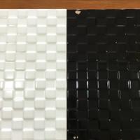 keramik dinding KIA ukuran 25x40 tipe luxury white & black