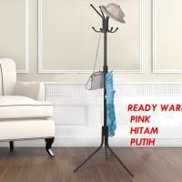 Multifunction Standing Hanger Jemuran Gantungan Baju (Portable, Modern