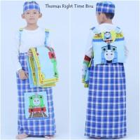 Sarung Instan Anak Karakter Thomas Right Time (Size XL)