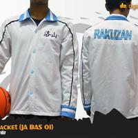 Akashi Seijuro Rakuzan Cosplay Jacket (Jaket Anime Kuroko no Basket)