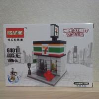 Hsanhe Lego mini street mini market *leven